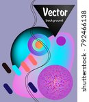 covers templates set with... | Shutterstock .eps vector #792466138
