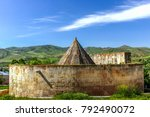 exterior view of tomb of melike ... | Shutterstock . vector #792490072