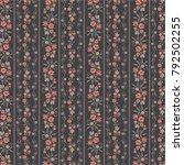 floral pattern in vector   Shutterstock .eps vector #792502255