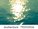 abstract blur sunshine... | Shutterstock . vector #792510526
