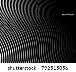 abstract  waves and lines... | Shutterstock .eps vector #792515056