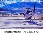 private jets  planes and...   Shutterstock . vector #792533572