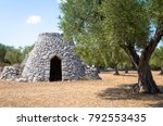 in salento area  south of italy ... | Shutterstock . vector #792553435