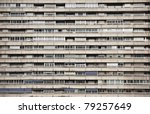 a highly repetitive downtown... | Shutterstock . vector #79257649