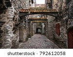 low angle view of st.... | Shutterstock . vector #792612058