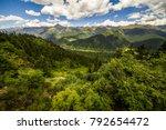 sichuan tibet plateau scenery... | Shutterstock . vector #792654472