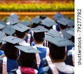 shot of graduation caps during... | Shutterstock . vector #79277782
