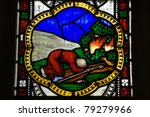 Victorian Stained Glass Window...