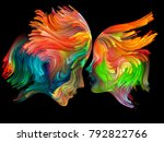color unity series. background... | Shutterstock . vector #792822766