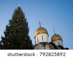 dormition church of moscow... | Shutterstock . vector #792825892