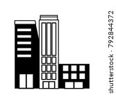 city building icon | Shutterstock .eps vector #792844372