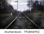 Old Railroad Retiring Into The...