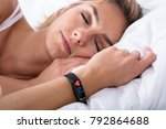 fitness activity tracker with... | Shutterstock . vector #792864688
