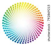 Spiral Dots Tube Pattern  ...