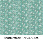 a seamless pattern with... | Shutterstock .eps vector #792878425