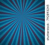 dark blue turquoise colored pop ... | Shutterstock .eps vector #792893245