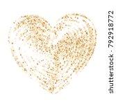 star heart as a constellation...   Shutterstock .eps vector #792918772