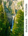 Tower Falls Yellowstone Park...