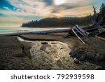 stream runoff running into...   Shutterstock . vector #792939598
