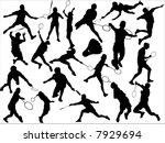 badminton | Shutterstock .eps vector #7929694