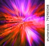 creative illustration of star... | Shutterstock . vector #792985348
