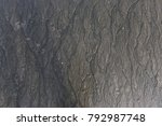 a pattern on a beach caused by...   Shutterstock . vector #792987748