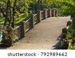 Lovely Bridge In A Beautifully...