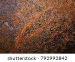 iron rust  steel rust  steel... | Shutterstock . vector #792992842