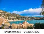 villefranche sur mer  cote d... | Shutterstock . vector #793000522