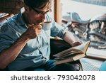 portrait of a mature confident... | Shutterstock . vector #793042078