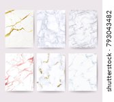 marble cover background vector... | Shutterstock .eps vector #793043482