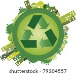 green world | Shutterstock .eps vector #79304557