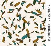 alchemy seamless pattern... | Shutterstock .eps vector #793078642