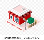 isometric high quality city... | Shutterstock .eps vector #793107172