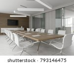 interior of reception and... | Shutterstock . vector #793146475