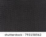 abstract metallic mesh... | Shutterstock . vector #793158562