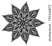 mandalas for coloring book.... | Shutterstock .eps vector #793166872