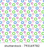 beatiful pattern with colored... | Shutterstock .eps vector #793169782
