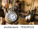 Vintage Pocket Watchs Hanged...