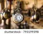 Vintage Pocket Watchs Hanged...