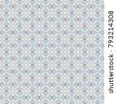 seamless vintage pattern | Shutterstock .eps vector #793214308