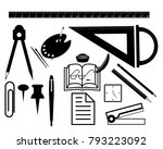 set of stationery for