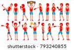 boxer sportsman. player boxing. ...   Shutterstock . vector #793240855