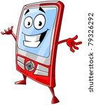 happy mobile phone   Shutterstock .eps vector #79326292
