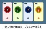 phone case design. abstract... | Shutterstock .eps vector #793294585