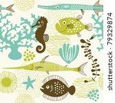 sea life | Shutterstock .eps vector #79329874