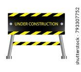 under construction icon ... | Shutterstock .eps vector #793307752