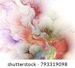 the colors in the series  fancy ... | Shutterstock . vector #793319098