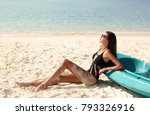 fashion outdoor photo of...   Shutterstock . vector #793326916