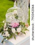 wedding decorations in luxury...   Shutterstock . vector #793342066